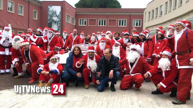 Al Polo Giontella Bastia, la Leggenda dei 100 Babbo Natale motorizzati