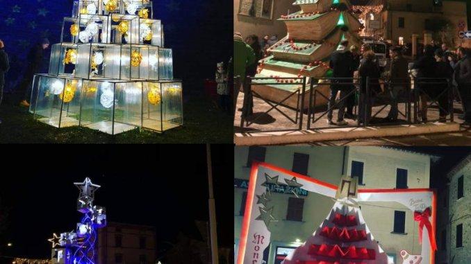 Alberi di Natale dei Rioni, chi sarà il vincitore?