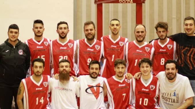 Virtus Bastia basket batte Orvieto al PalaGiontella e riparte dopo le festività