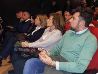 Centrosinistra ha presenta il candidato Lucio Raspa al Cinema Esperia