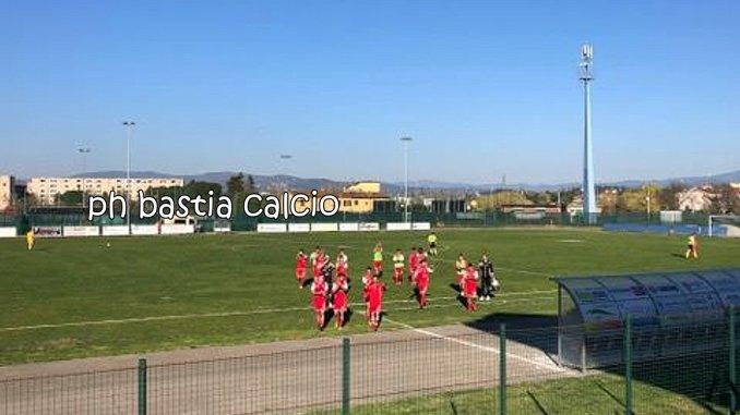 Bastia calcio corsaro a Scandicci batte i toscani per 3-1, con esultanza