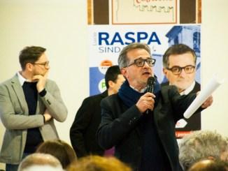 Lucio Raspa comincia il tour elettorale da Costano