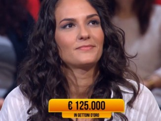 Valentina Dionigi di Bastia Umbra ai Soliti Ignoti vince 125 mila euro