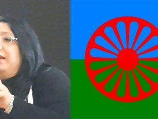 Giulia Di RoccoabruzzeseRomni donerà bandiera dei rom a Papa Bergoglio