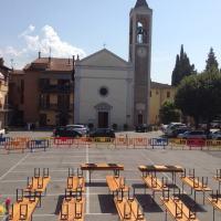 Ospedalicchio, Madonna della Pietà, festa di piazza con tanti giovani