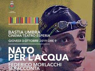 Nato per l'acqua, il campione Federico Morlacchi incontra le scuole