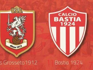 Calcio, il Bastia in trasferta a Grosseto, sabato ore 15