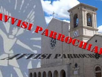 Parrocchia di San Michele Arcangelo, i prossimi incontri, il 16 inizia il catechismo