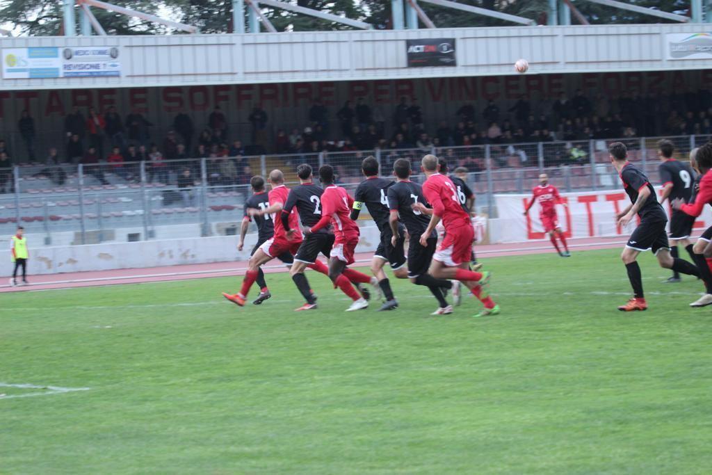 Sfiga cosmica per il Bastia calcio, battuto allo scadere da Monterosi |Foto
