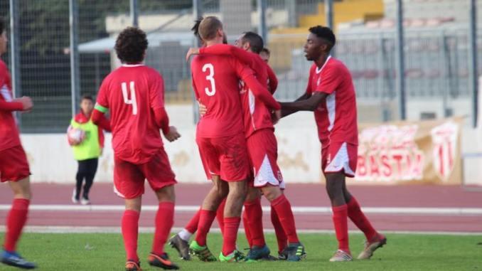 Ko interno del Bastia ad opera del Flaminia per 1-3