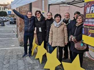 Movimento 5 Stelle di Bastia Umbra sempre impegnato tra la gente