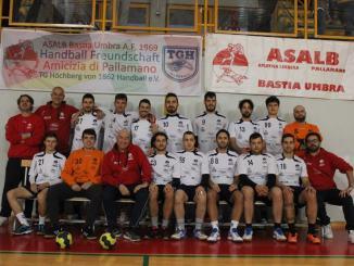 Sconfitta contro Arezzo per l'Asalb Pallamano Bastia Umbra