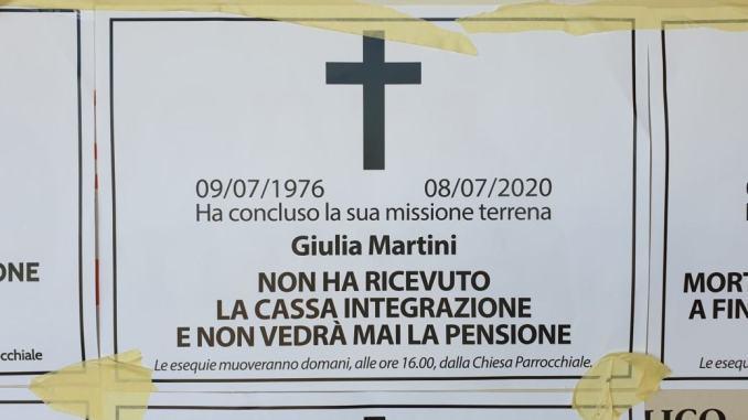 Falsi necrologi Casapound a Bastia Umbra, Inps, non ci intimoriscono