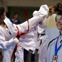 Serena Dragoni, Taigeta karate: «Vince chi vuole vincere»