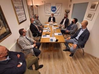 Elezioni Assisi, Cosimetti a Bastia Umbra, incontro con UGL, c'era Stefano Santoni