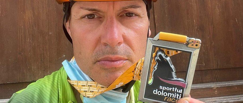Al Sportful Dolomiti Race 33° posto di categoria per il bastiolo Ivan Rossi