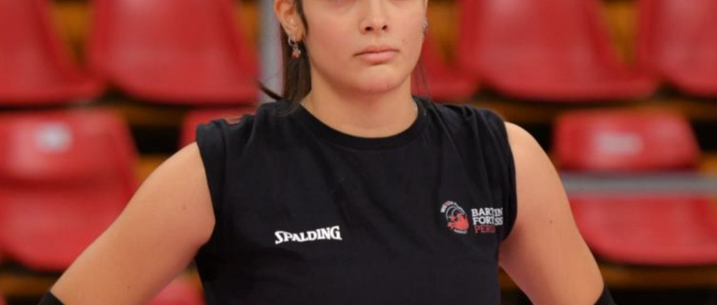 Giulia Patasce, campionessa italo-romena, in Bartoccini Fortinifissi in B2