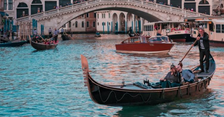 Este fim de semana em Veneza num hotel com vista para o Canal só custa 200€
