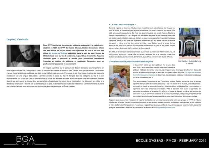 ECOLE D'ASSAS - PMCS