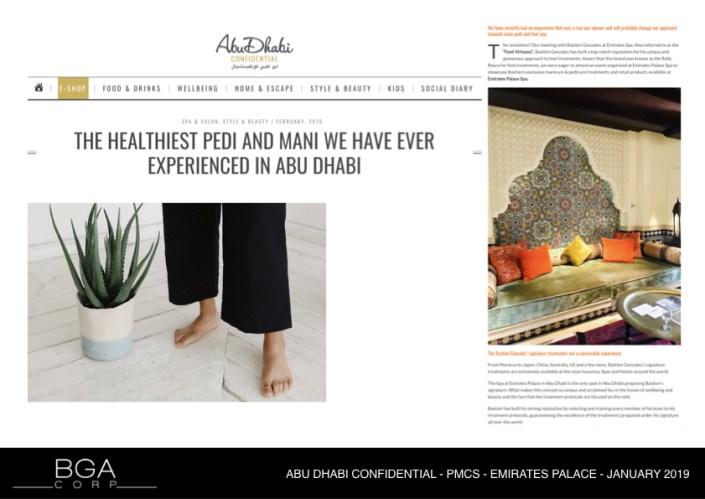 ABU DHABI CONFIDENTIAL - PMCS - EMIRATES PALACE