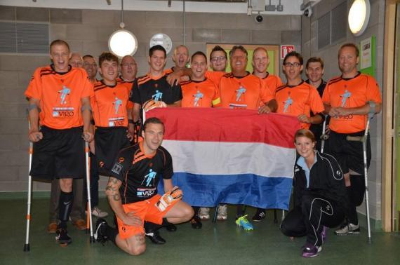 nederlands ampuvoetbal in ierland