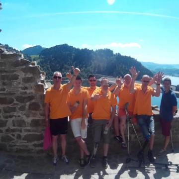Oranje in Polen, de voortgang