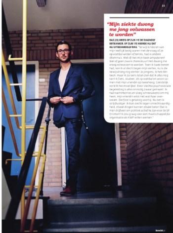 Bas van der Voort kracht magazine