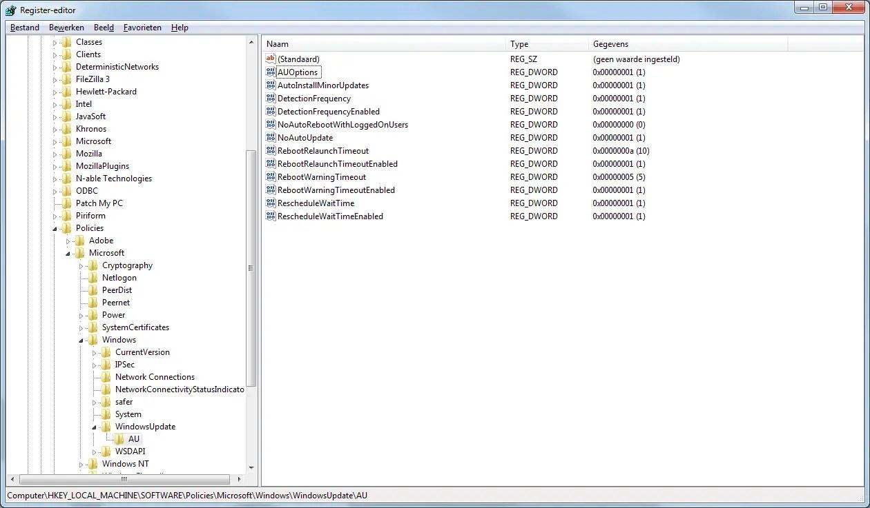 FIX: Windows update grayed out by Bas Wijdenes