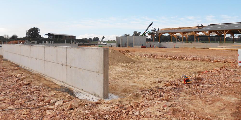 Construction d'un bâtiment agricole à Guémené-Penfao - Bat Aménagement