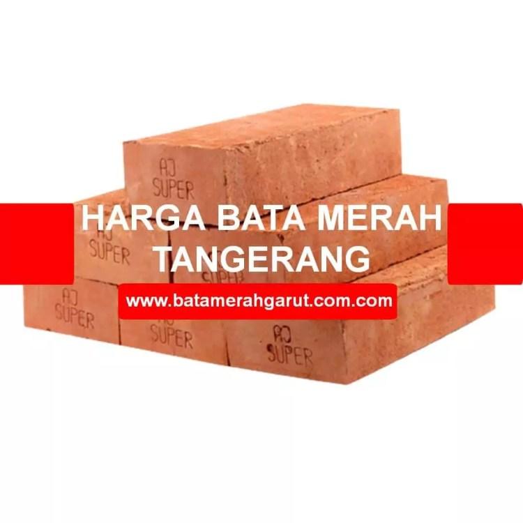 Harga Bata Merah Tangerang