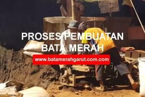 Proses Pembuatan Batu Bata Merah dari Tanah Liat