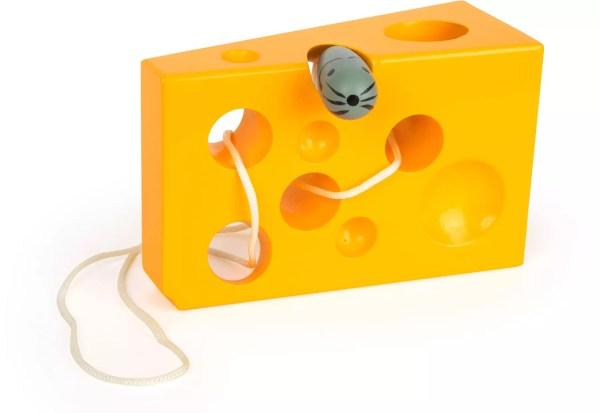 Infilare topo nel formaggio
