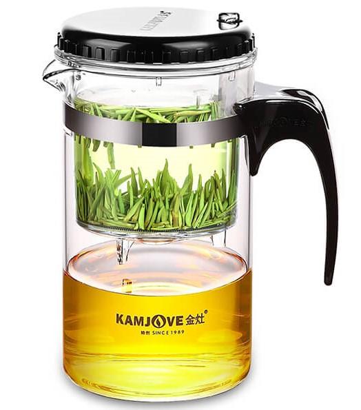 Kamjove-TP-160 Press Art Tea pot