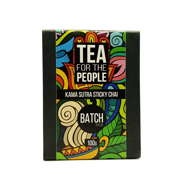 Kama Sutra Sticky Chai Packaging- Masala Chai Mix