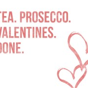 Tea & Prosecco Valentine's Cocktail Header Image