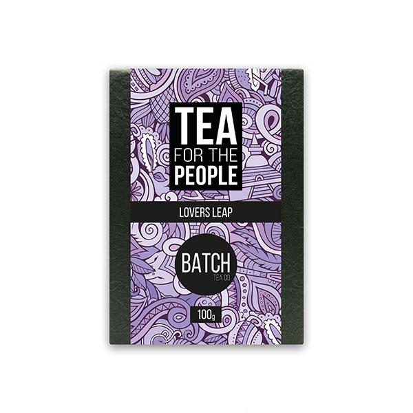 Lover's Leap Ceylon Black Tea Packaging