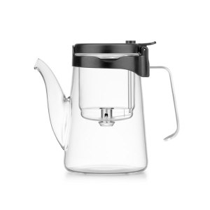 Samadoyo Glass and Stainless Steel Gong Fu Teapot