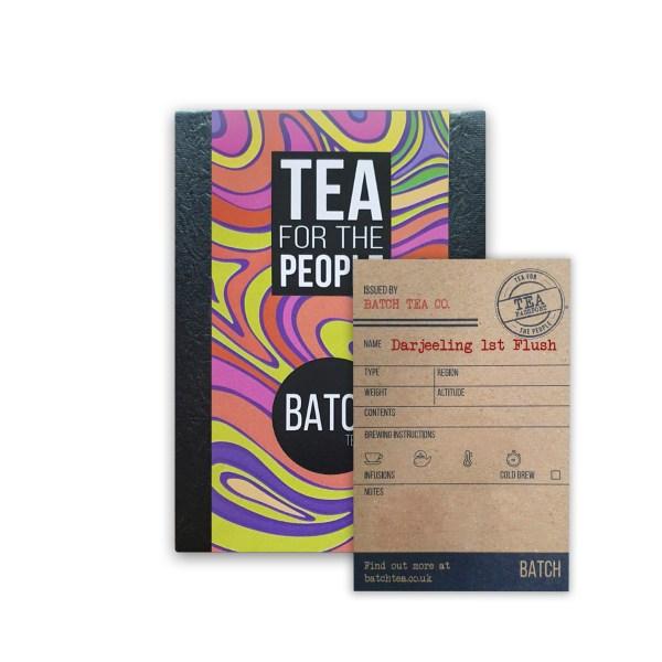 Darjeeling1st Flush Tea packet with Tea Passport