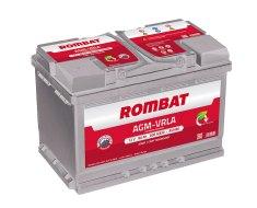 Baterii auto Rombat; Bateriile AGM-VRLA