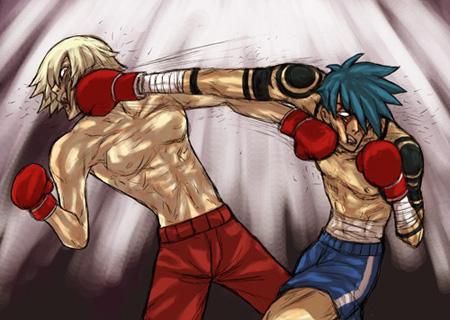 Gurren Lagann - Kamina and Viral battle it out!
