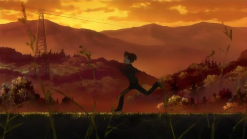 Bokurano: … I really wish I could've died on the Earth I grew up on.