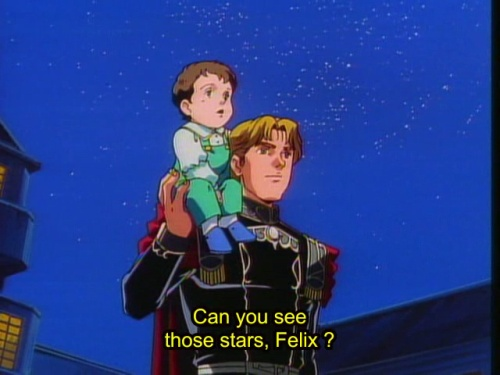 Can you see those stars, Felix? Or are you just drunk with blood-colored dreams?