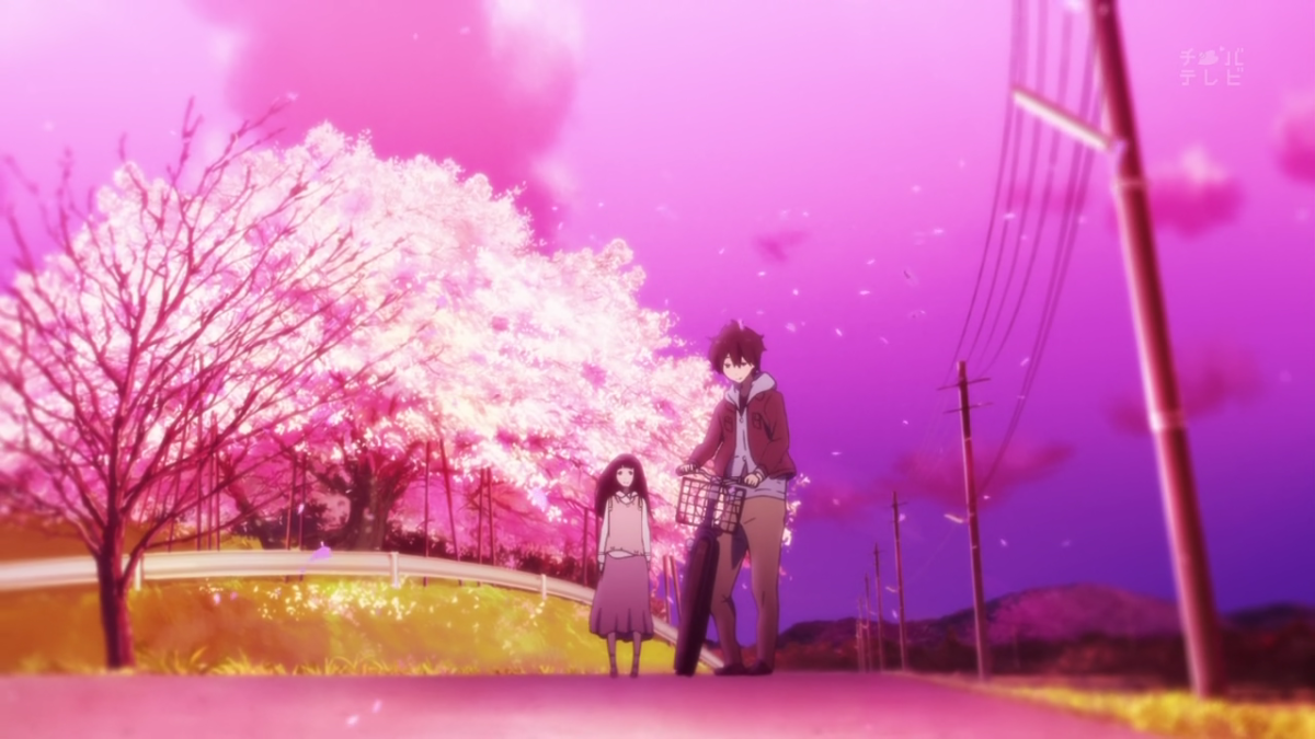 A distant light: Hyouka
