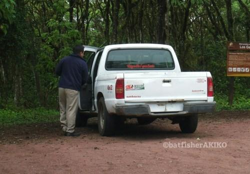 ガラパゴスのタクシー