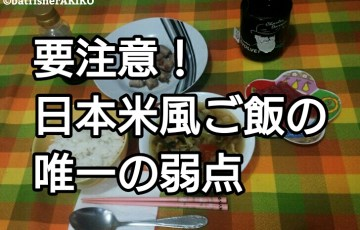 要注意!日本米風ご飯の唯一の弱点 アイキャッチ
