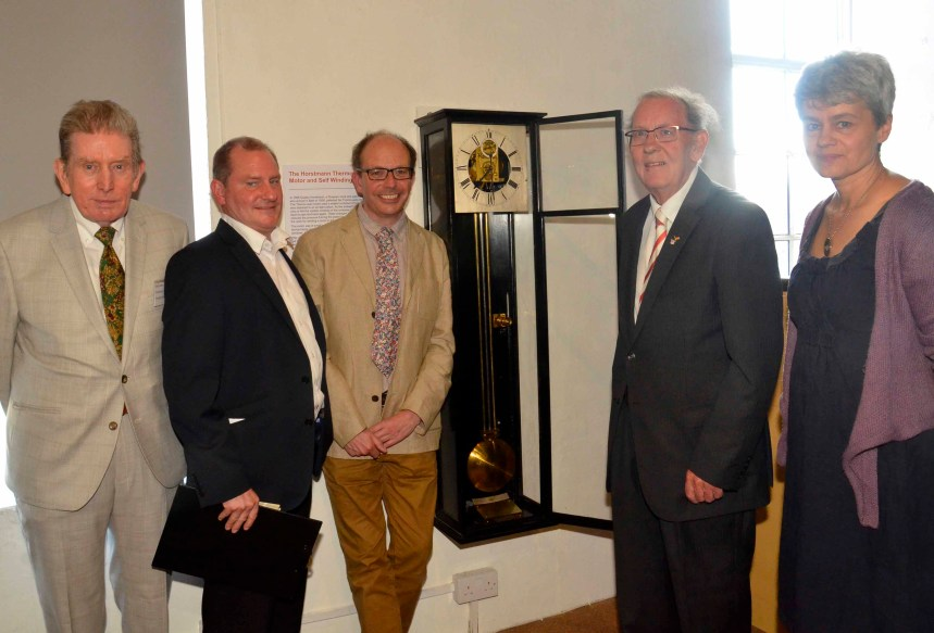 Restored Horstmann self-winding clock comes home to Museum
