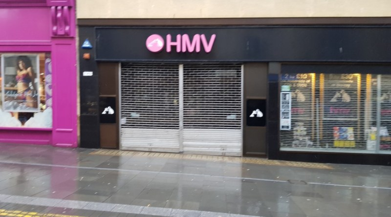 HMV to close