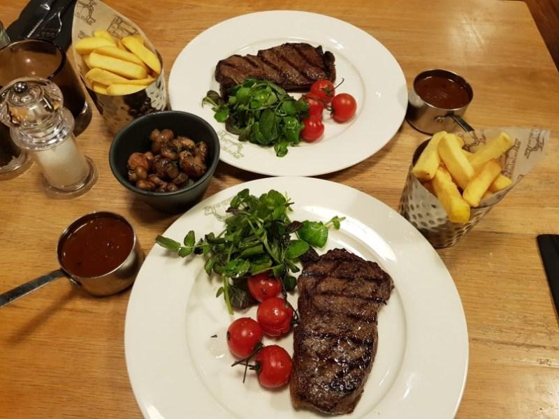 Graze steaks