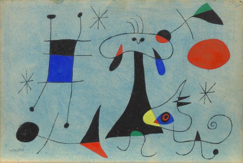 """""""גם הילד שלי יכול לצייר את זה"""" נשמע כבר יותר מידי פעמים. חואן מירו, גם איתו יש לי ויכוח"""