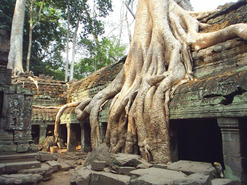 כיבוש מחדש, מקדש תה-פרום בקמבודיה